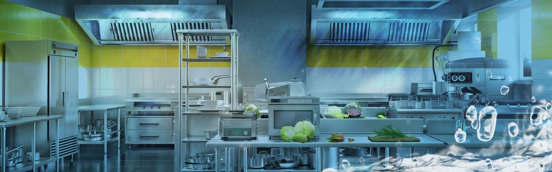Higiene e Desinfecção de Cozinha Industrial